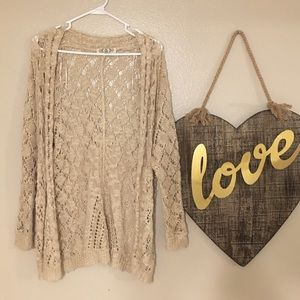 Lightweight, Lace Cardigan